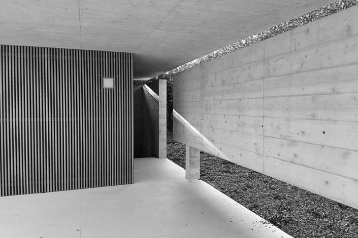 Padiglione a servizio piscina - arch. Mario Tessarollo