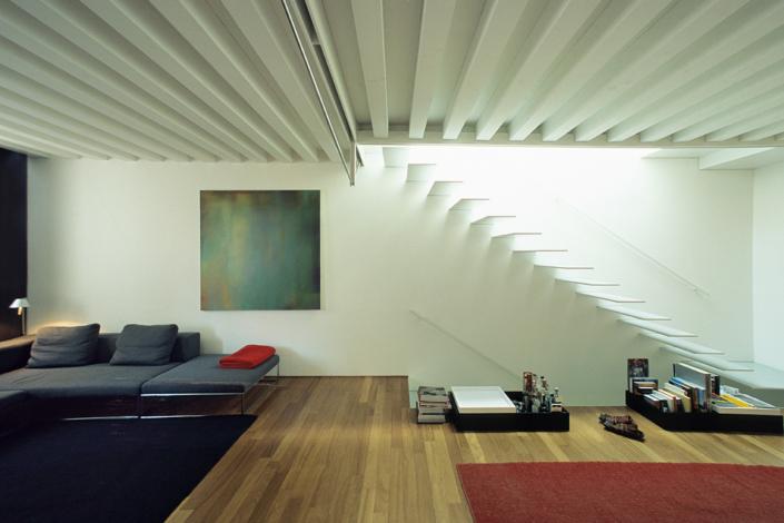 Ristrutturazione residenziale in centro storico - ph Stefano Scatà - arch. Mario Tessarollo