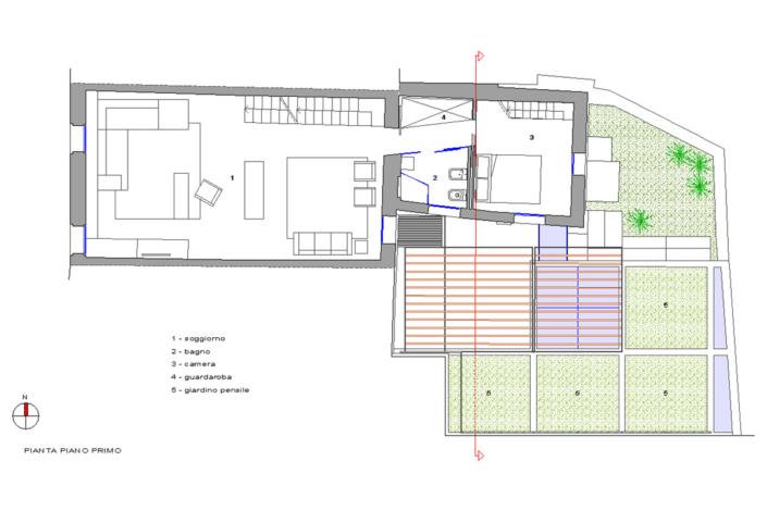 Ristrutturazione residenziale in centro storico - arch. Mario Tessarollo