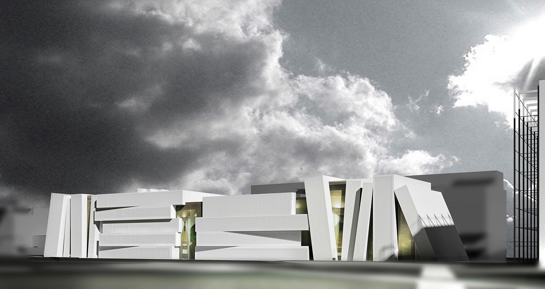 Cental Library Competition - arch. Mario Tessarollo
